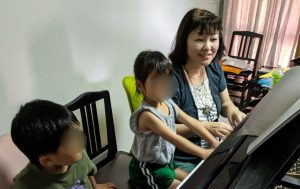 岡山県倉敷市上東のピアノ教室・リトミック教室・硬筆教室・英語教室のプレピアノとリトミック教室